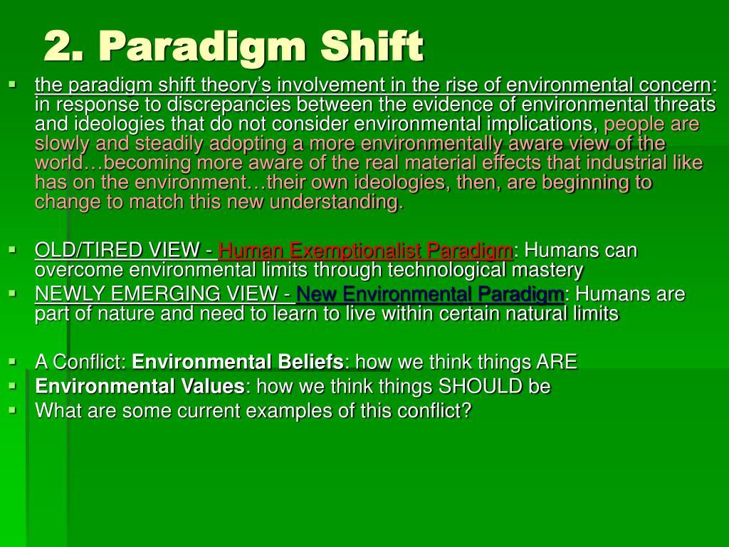 2. Paradigm Shift