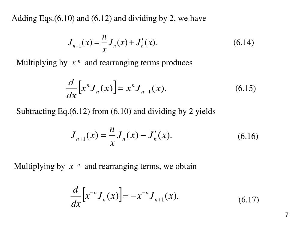 Adding Eqs.(6.10) and (6.12) and dividing by 2, we have