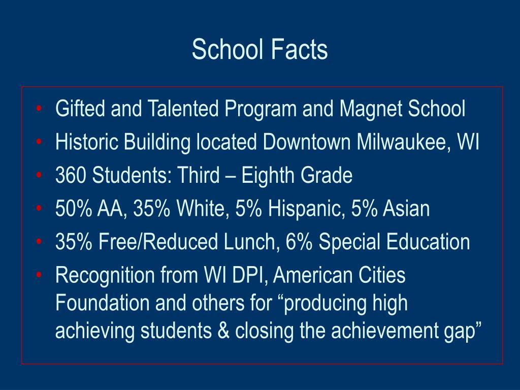 School Facts