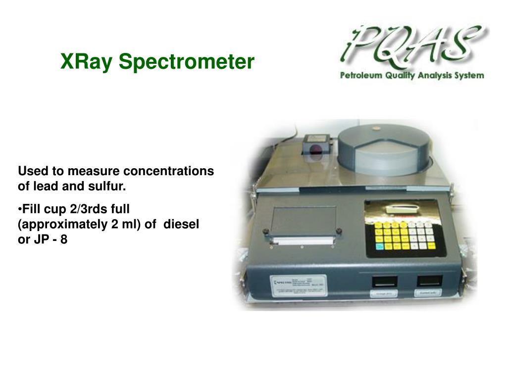 XRay Spectrometer