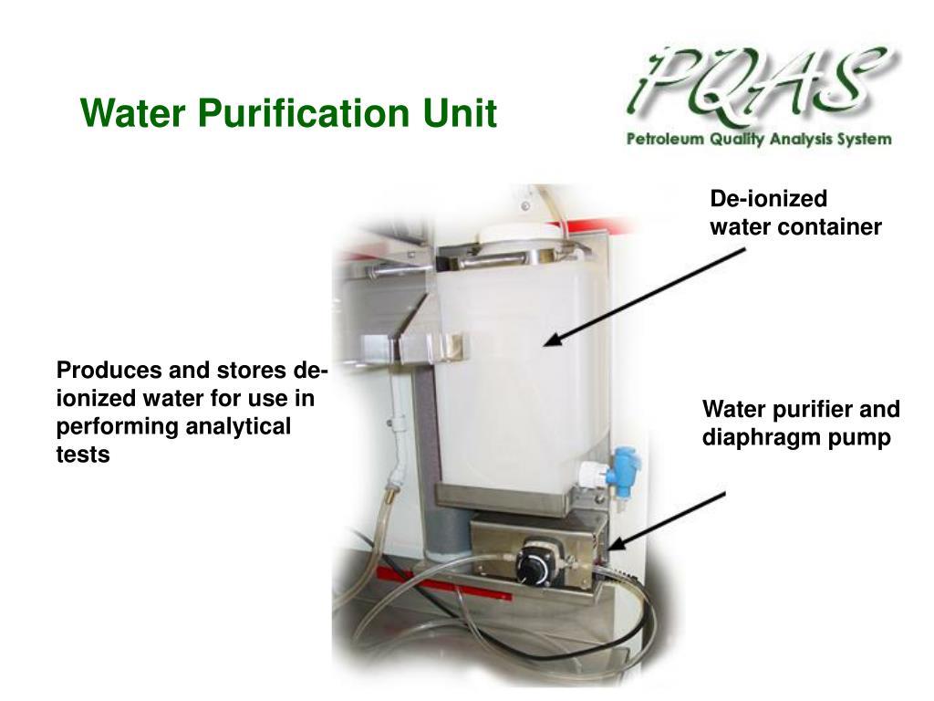 Water Purification Unit
