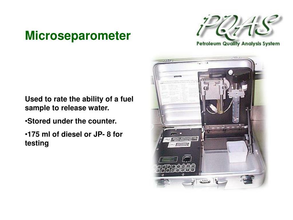 Microseparometer