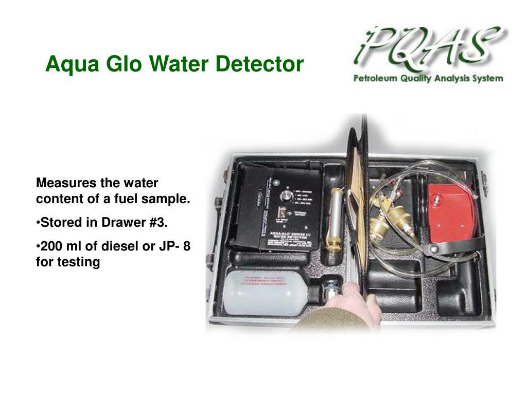 Aqua Glo Water Detector