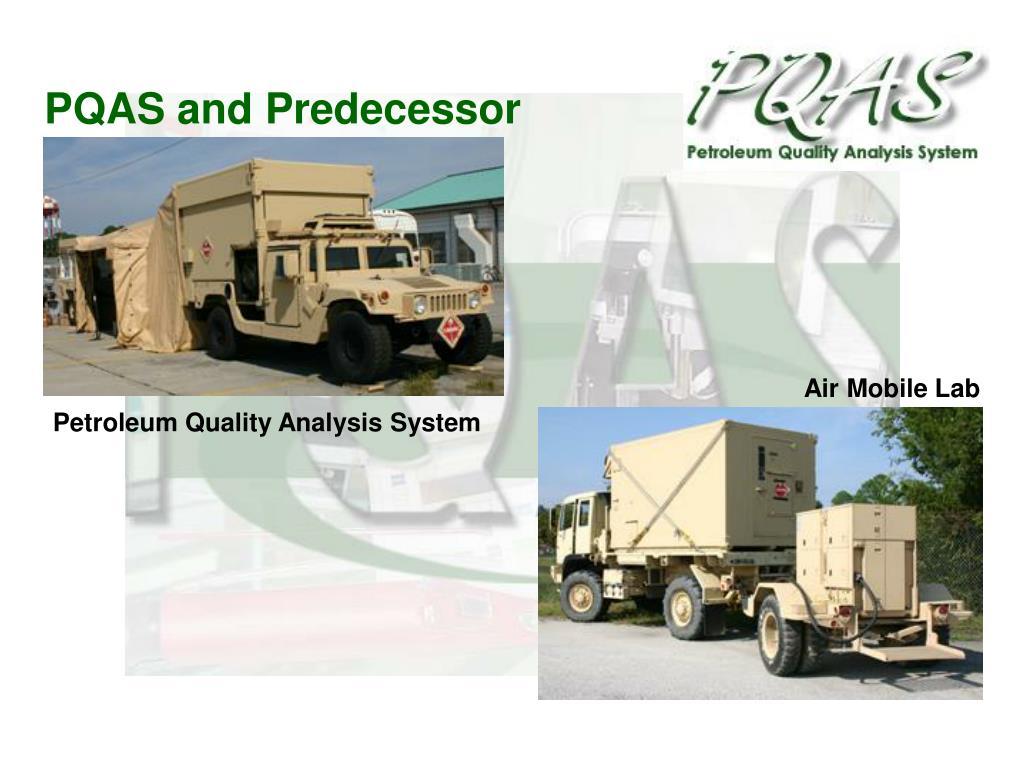 PQAS and Predecessor