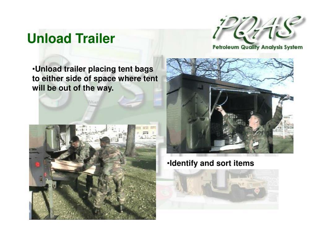 Unload Trailer