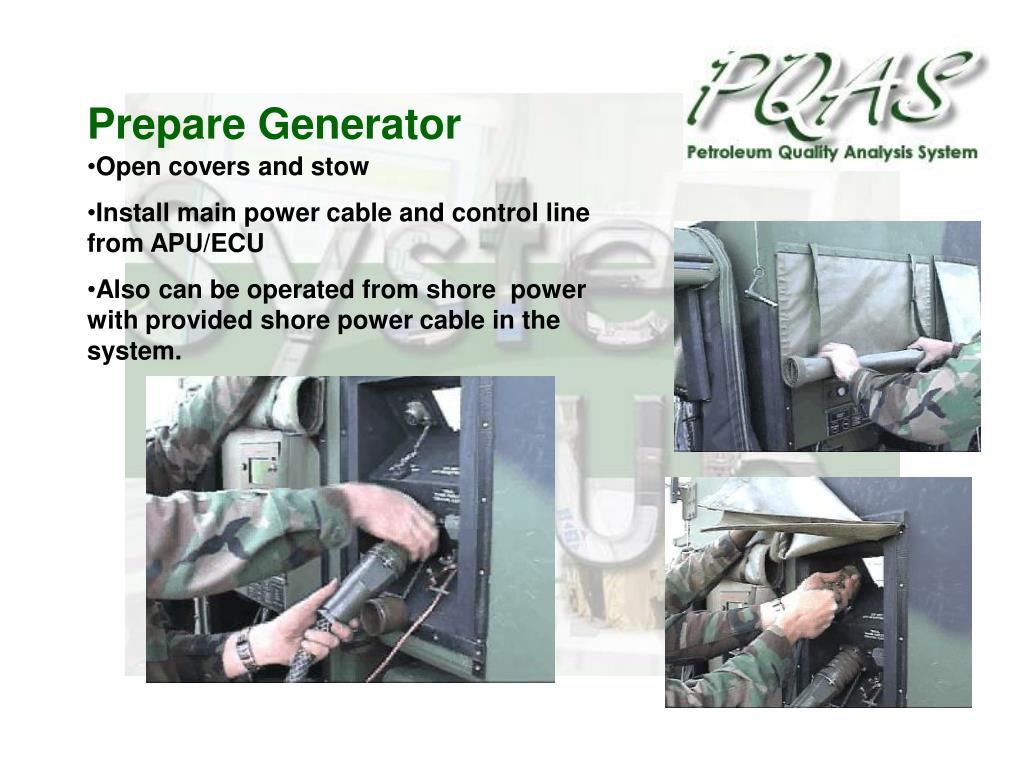 Prepare Generator