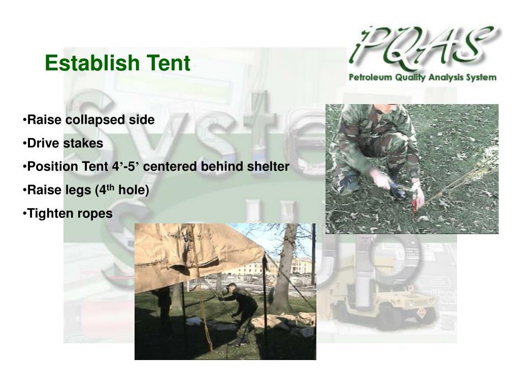 Establish Tent
