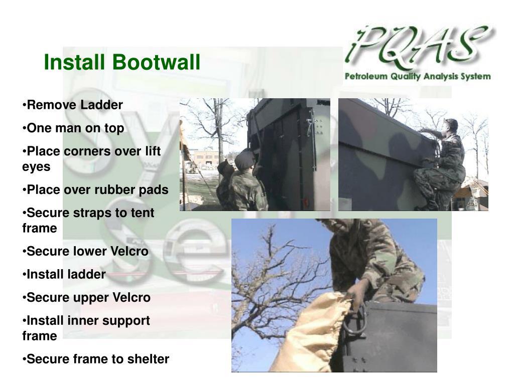 Install Bootwall