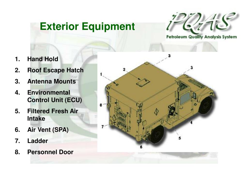 Exterior Equipment