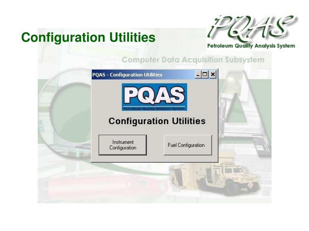 Configuration Utilities