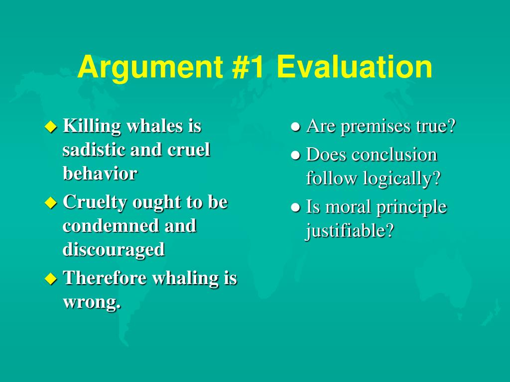 Killing whales is sadistic and cruel behavior