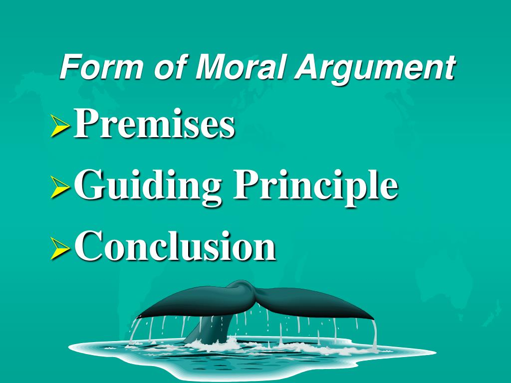Form of Moral Argument