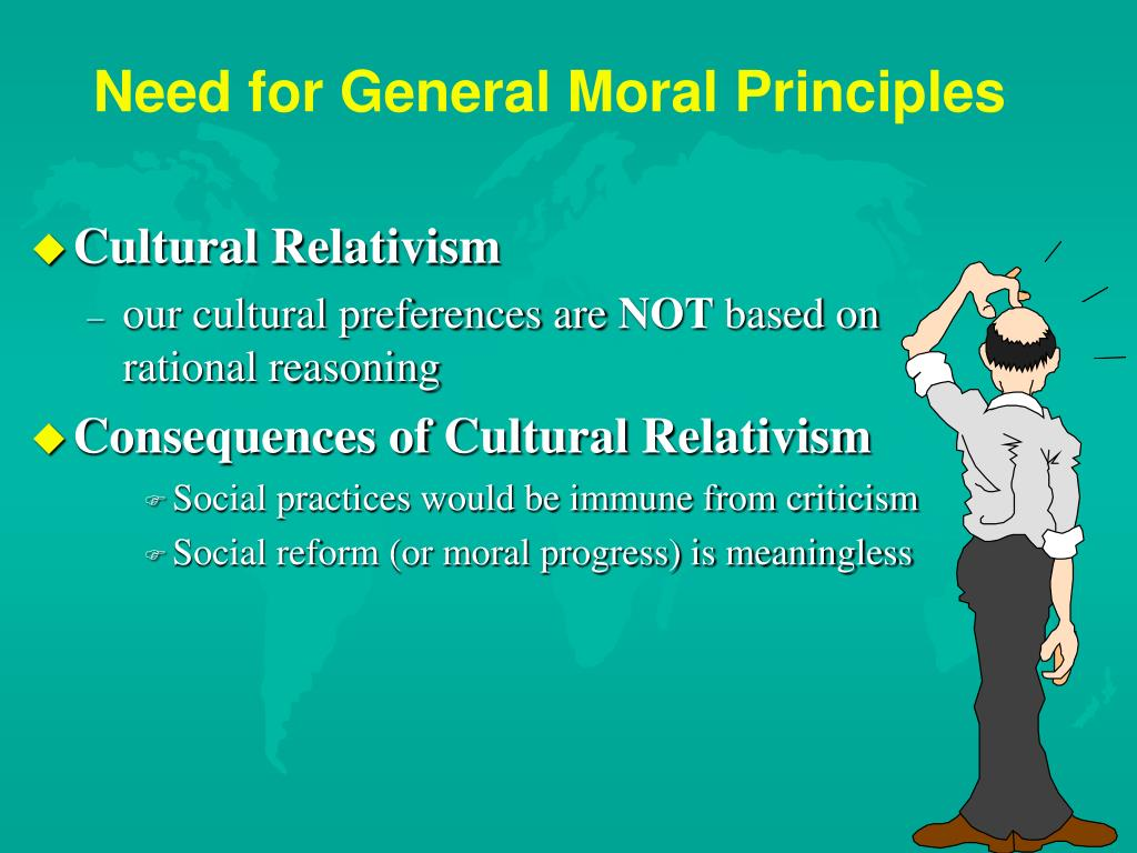 Need for General Moral Principles