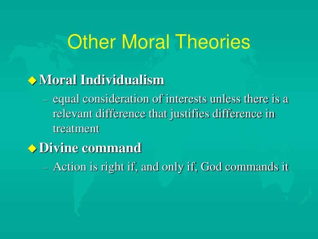 Other Moral Theories