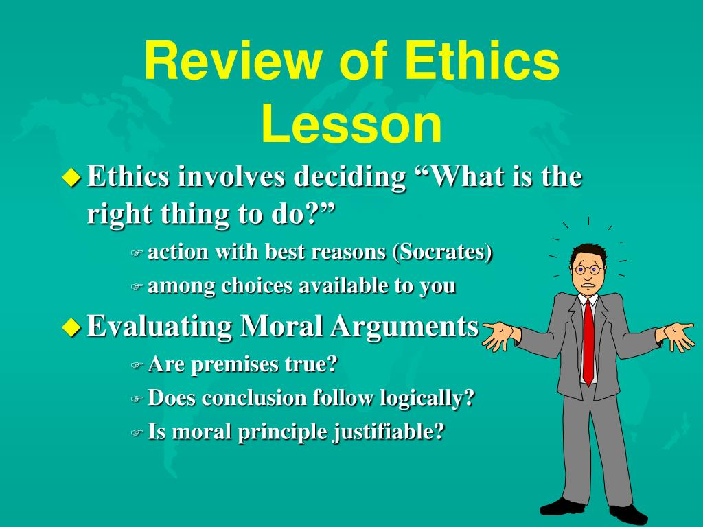 Review of Ethics Lesson