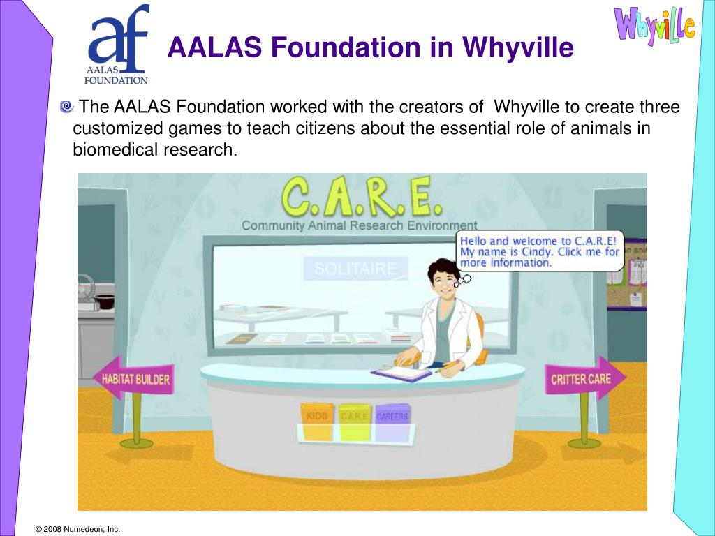 AALAS Foundation in Whyville