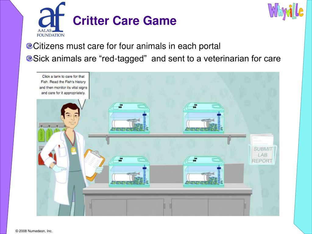Critter Care Game
