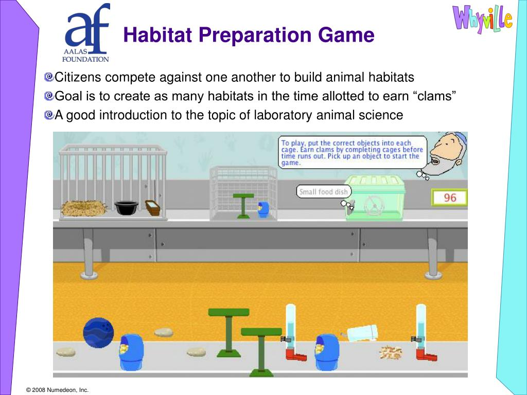 Habitat Preparation Game