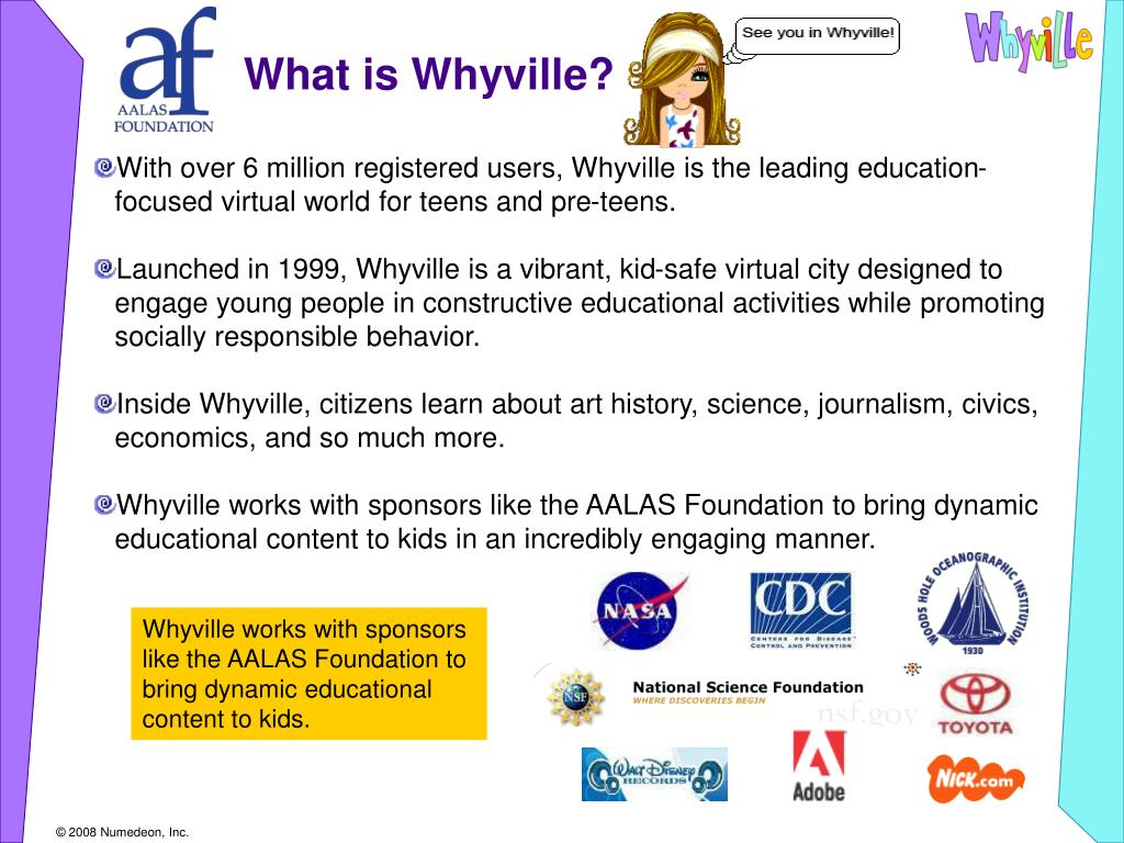 What is Whyville?
