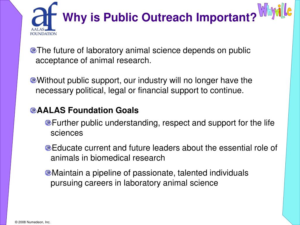 Why is Public Outreach Important?