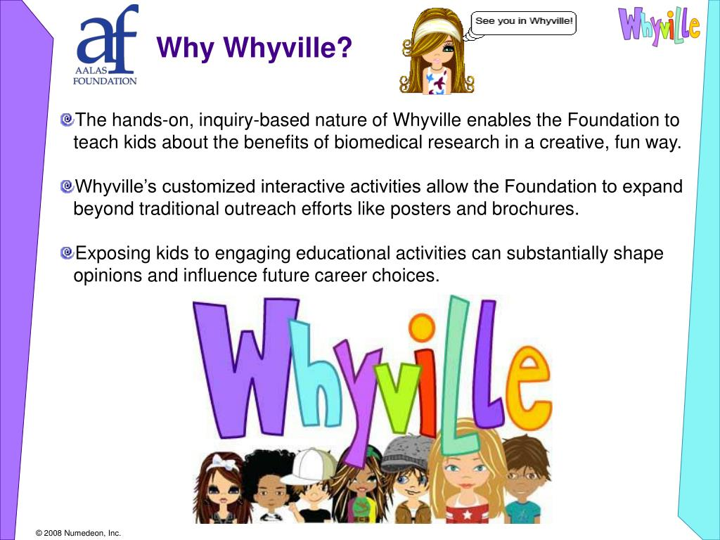 Why Whyville?