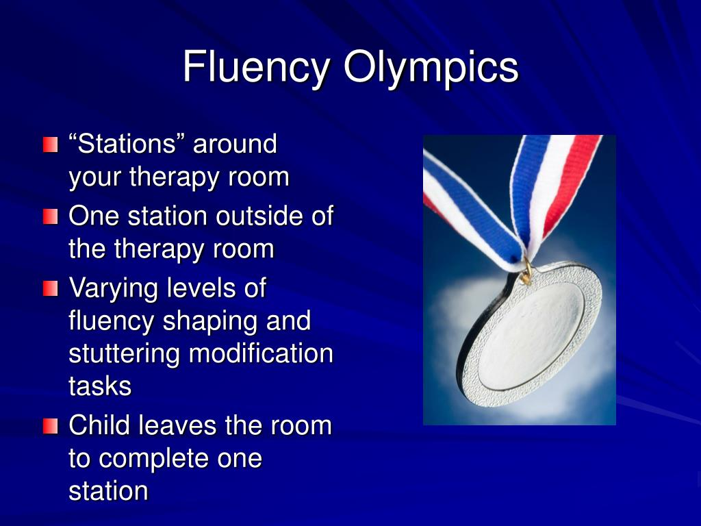 Fluency Olympics