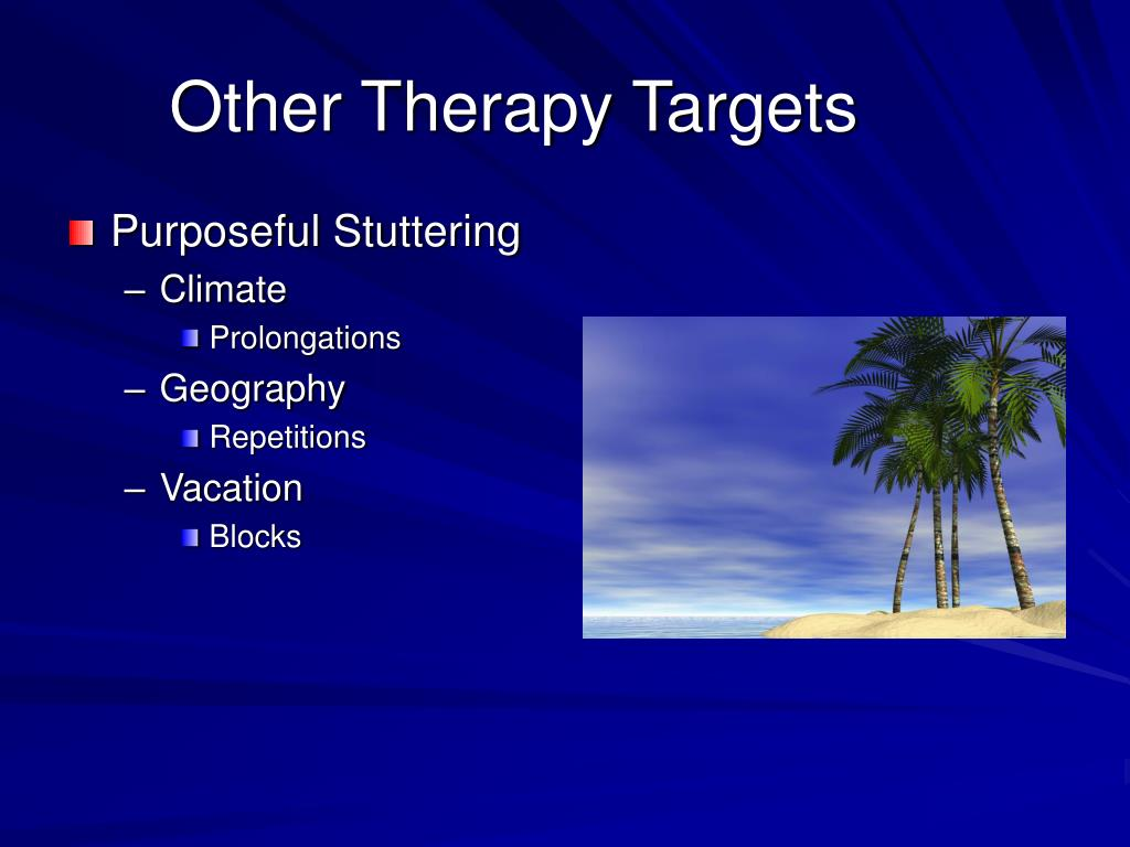 Other Therapy Targets