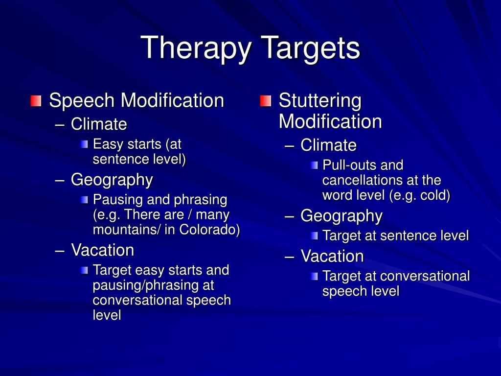 Speech Modification