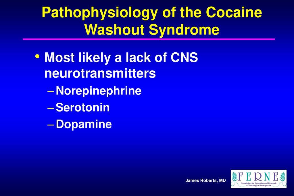 Pathophysiology of the Cocaine