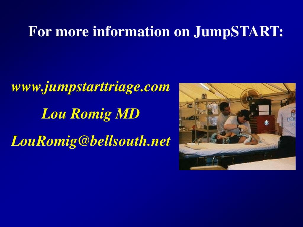 For more information on JumpSTART: