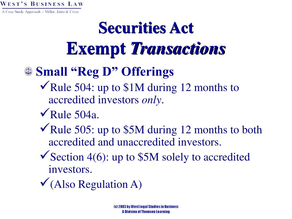 Securities Act