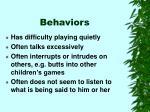 behaviors9