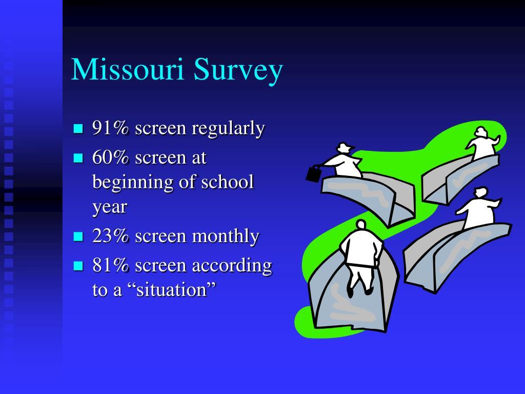 Missouri Survey