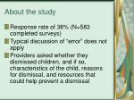 about the study3