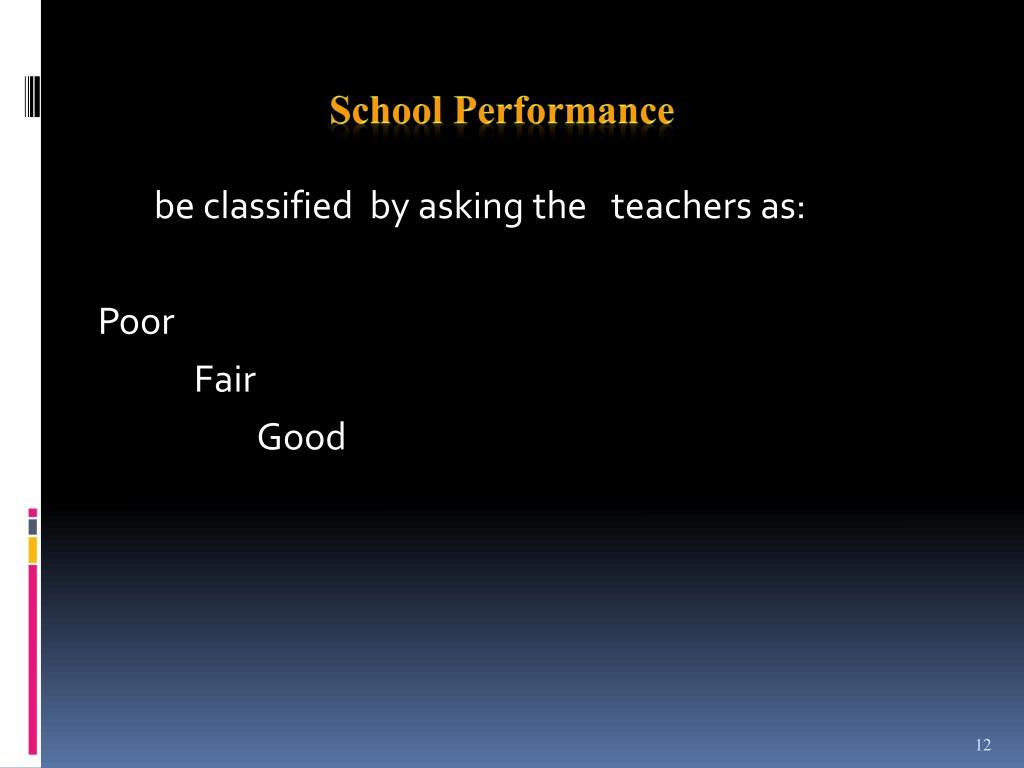 School Performance