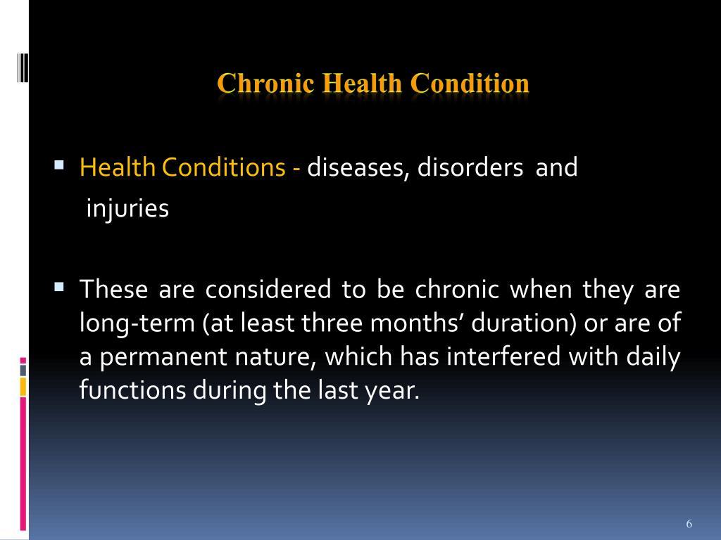Chronic H