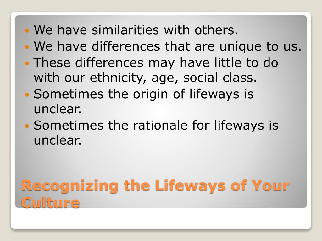 We have similarities with others.
