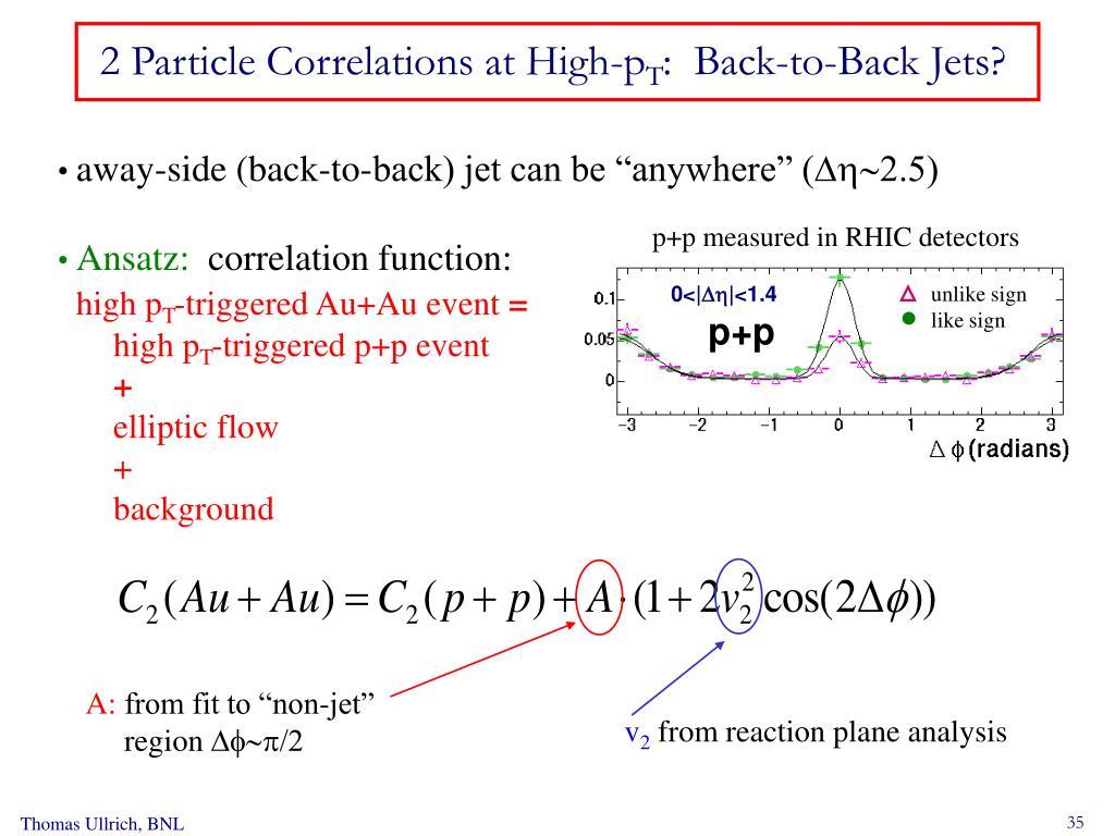 p+p measured in RHIC detectors