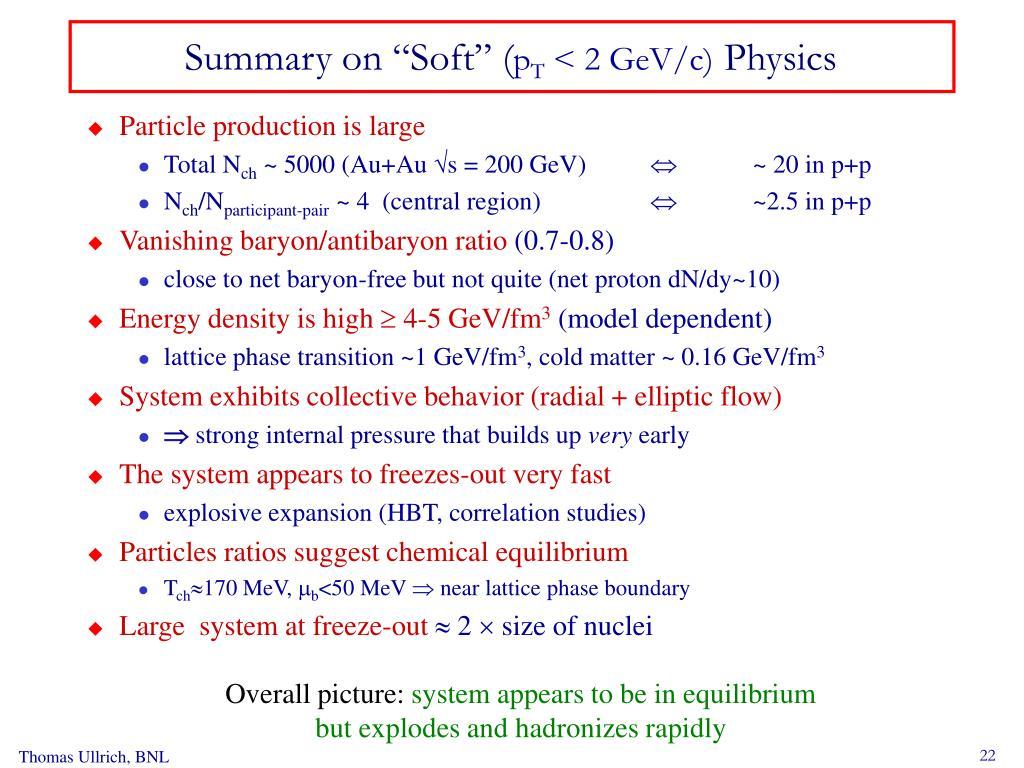"""Summary on """"Soft"""" ("""