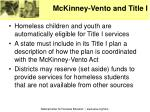 mckinney vento and title i
