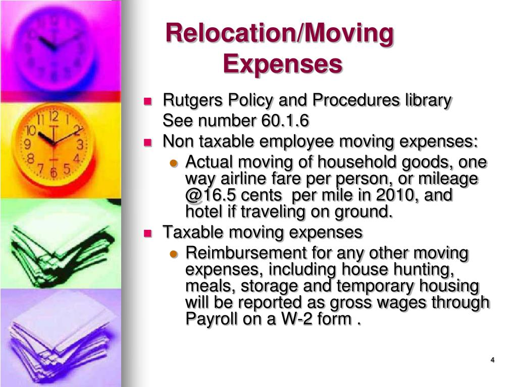 Relocation/Moving