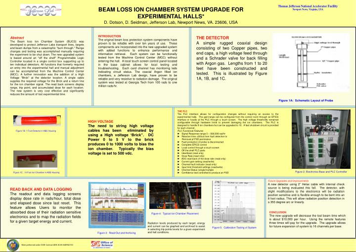 BEAM LOSS ION CHAMBER SYSTEM UPGRADE FOR