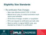 eligibility size standards10