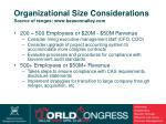 organizational size considerations source of ranges www beasonnalley com26