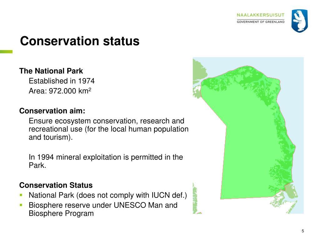 Conservation status