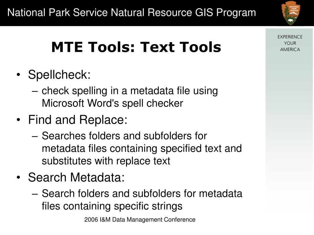 MTE Tools: Text Tools