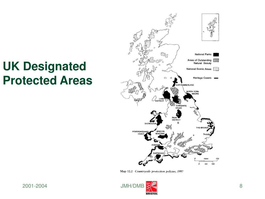 UK Designated Protected Areas