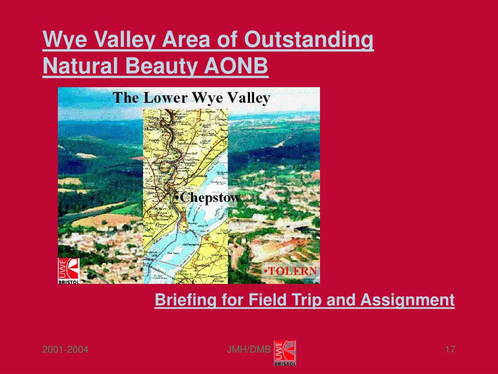 Wye Valley Area of Outstanding Natural Beauty AONB