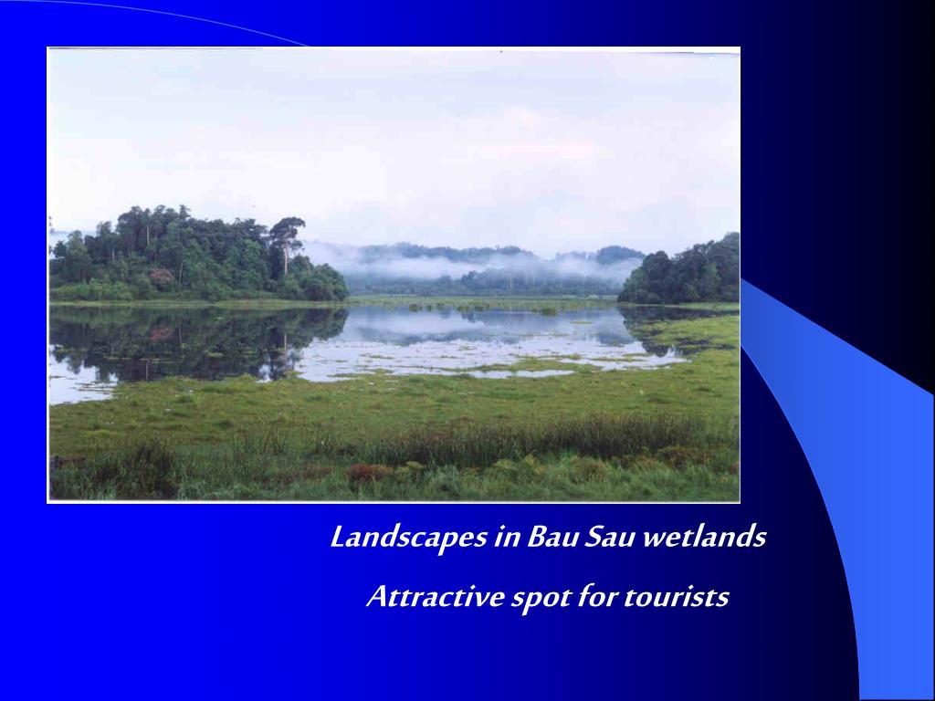 Landscapes in Bau Sau wetlands