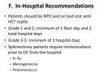 f in hospital recommendations